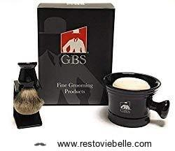 GBS Premium Men's Shaving Brush