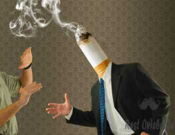 Smoking butt head man quit cigarette smoking cessation Why Does Your Breath Smell Bad?
