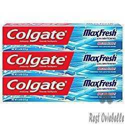 Colgate Max Fresh Toothpaste with Breath Strips