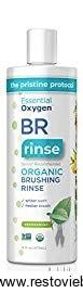 Essential Oxygen Organic Brushing Rinse Toothpaste Mouthwash