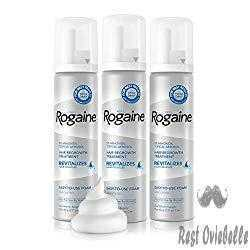 Rogaine For Men Better Hair Growth And Thicker Mustache