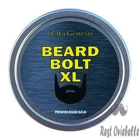 Beard Bolt XL | Caffeine Facial Hair Growth Stimulating Beard Balm | Premium Leave-in Conditioner
