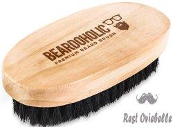 BEARDOHOLIC Boar Hair Beard Brush