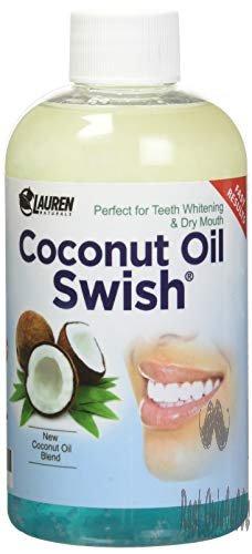 Oil Pulling Coconut Oil Mouthwash