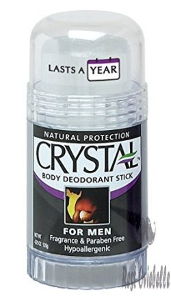 Crystal Rock Mineral Deodorant Stick
