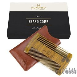 Dual Action Beard Comb &