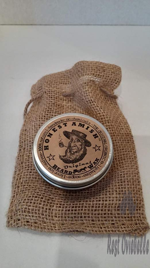 Honest Amish Original Beard Wax - Made from Natural and Organic Ingredients Customer Image 2