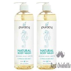 Puracy Natural Body Wash – Citrus and Sea Salt