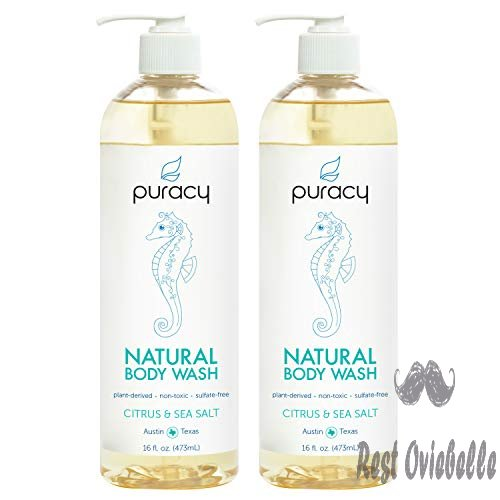 Puracy Natural Body Wash, Citrus