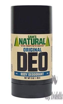 Sam's Natural Deodorant - Aluminum