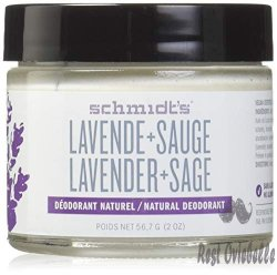 Schmidt's Natural Deodorant, Lavender and