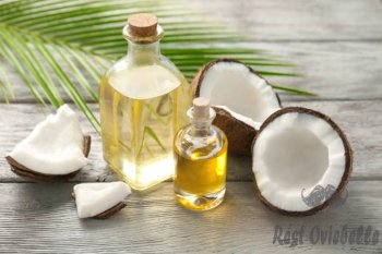 bottles with fresh coconut oil on wooden table - coconut oil s and pictures How To Use Coconut Oil?