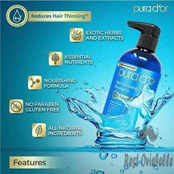 PURA D'OR Hair Loss Prevention Premium Organic Argan Shampoo 1