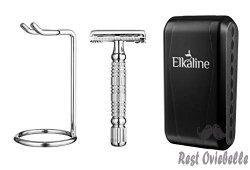Elkaline Razors Shaving Kit For Men And Women
