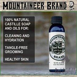 Mountaineer Brand All Natural Beard Wash 1