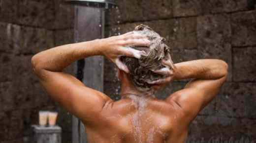 man washing hair in shower thickening shampoo for men stock pictures royalty free photos images best thickening shampoo for men