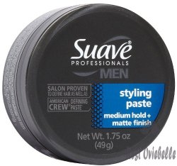 Suave Professionals Men Styling Paste With Medium Hold