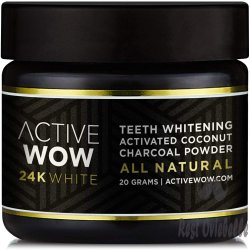 Active Wow Teeth Whitening Charcoal