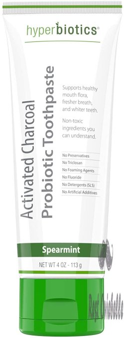 Probiotic Activated Charcoal Toothpaste -