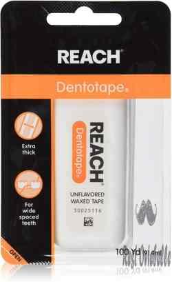 Reach Dentotape Waxed Dental Floss