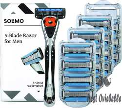 Solimo 5-blade Motion Sphere Razor For Men