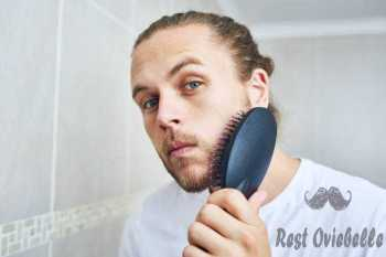 Brush Your Beard to stop beard itch