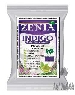 Zenia Indigo Powder Beard Dye