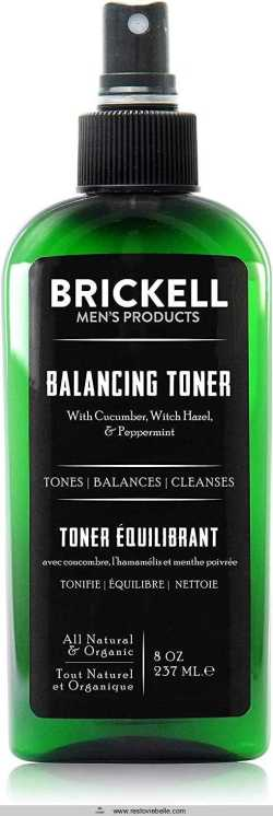 Brickell Men's Balancing Toner For