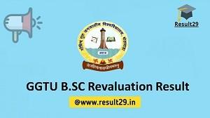 GGTU B.SC Revaluation Result