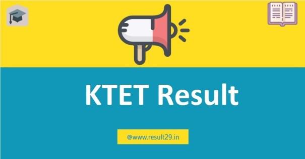 KTET Result 2020