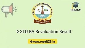 GGTU BA Revaluation Result