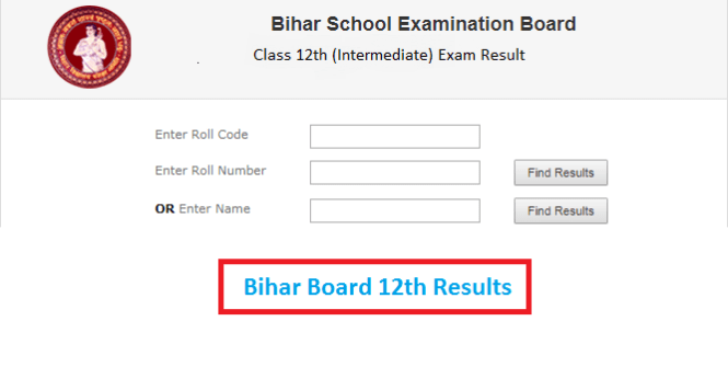 Bihar Board Intermediate 12th Arts Result 2020