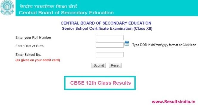 CBSE 12th Result 2019 Declared – Check CBSE Board Class 12th