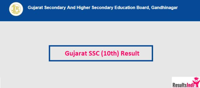 Gujarat SSC 10th Result 2019- GSEB SSC Result 2019