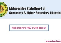 Maharashtra Board HSC 12th Result 2020