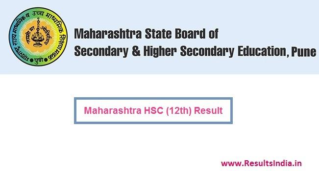 Maharashtra Board HSC 12th Result 2020