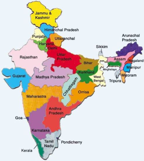 India General Knowledge Questions in Hindi
