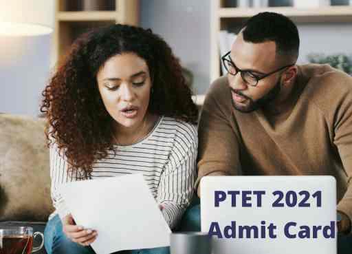 PTET 2021 Admit Card