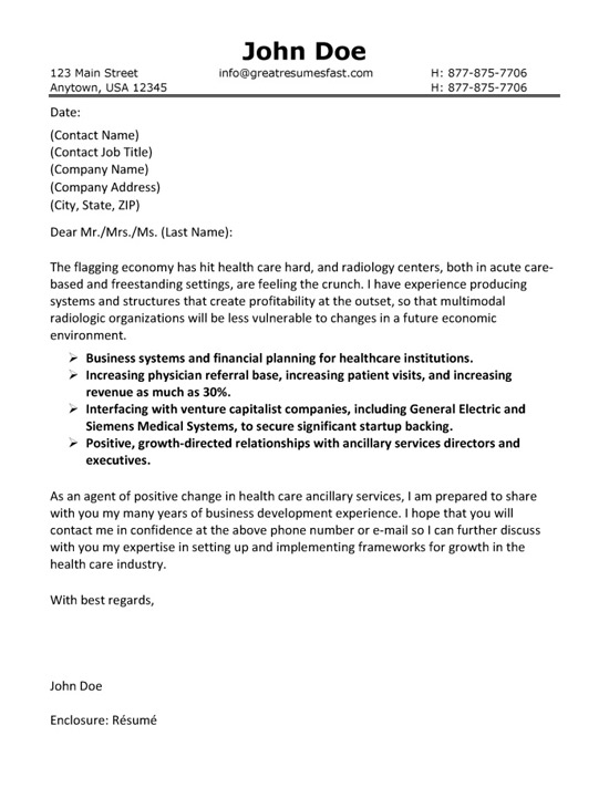 cover letter examples for resume healthcare kind resignation