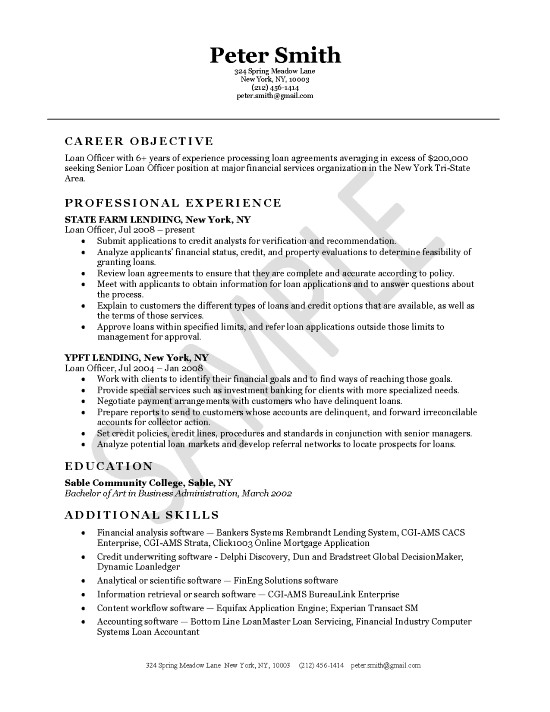 Short Resume Samples. How To Write A Resume Summary That Grabs