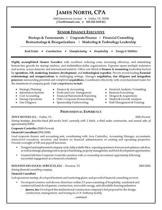 Resume It Consultant. it consultant resume sample business ...