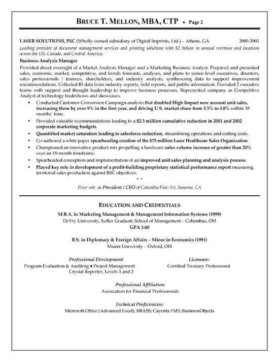 Trade finance resume samples