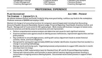 production manager resume cv example industrial management
