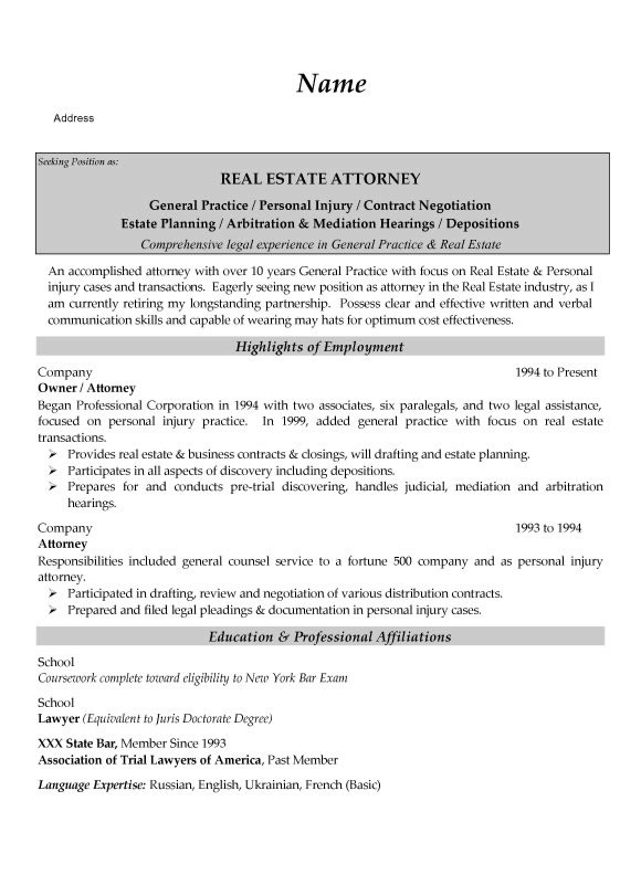 associate general counsel cover letter