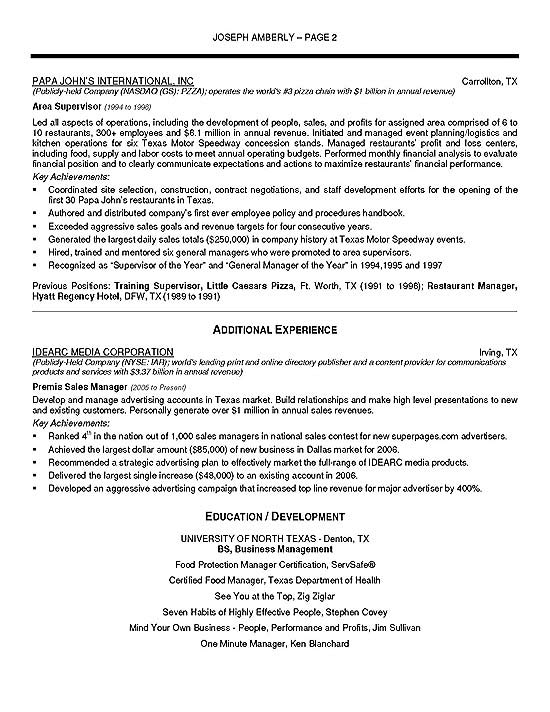 Change Management Resume Summary. Functional Resume Example Sample