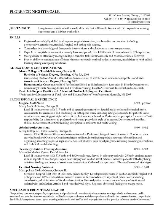 Sales Assistant Objective Resume Example Resume For Retail Skills  Carpinteria Rural Friedrich  Examples Of Registered Nurse Resumes