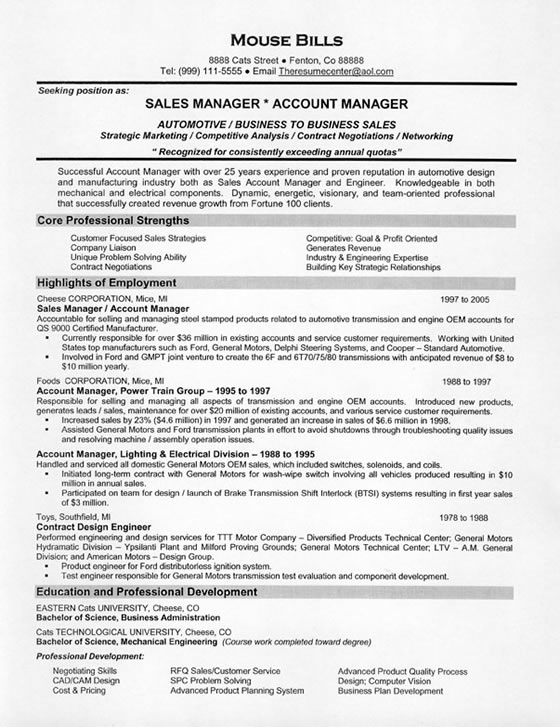 Resume For Sales Position Examples. Social Work Cover Letter