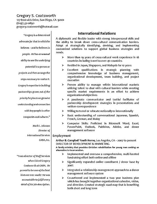 sample resume exbc18a jpg