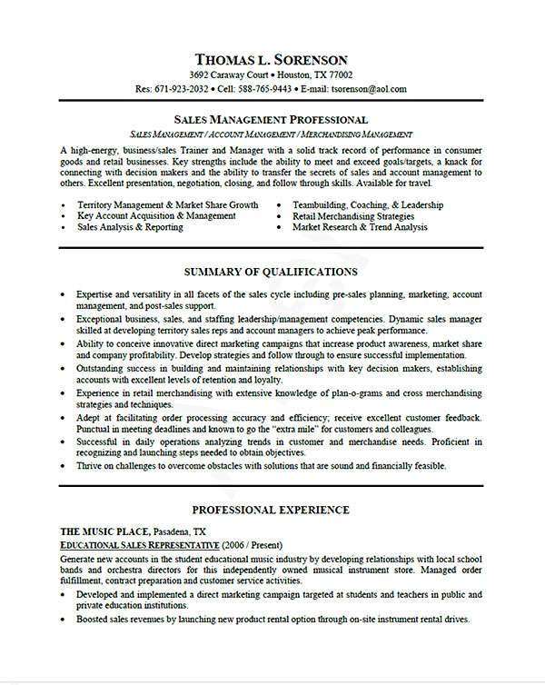 us resume template format word - Resume Format In Usa