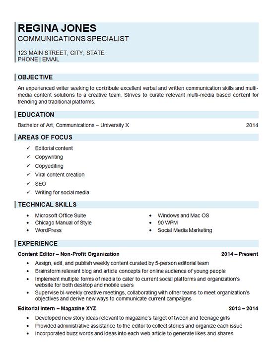 Resume Objective For Banking - Best Sample Resume